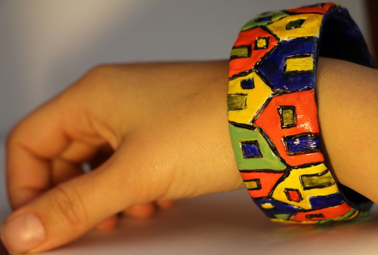colorful bangle