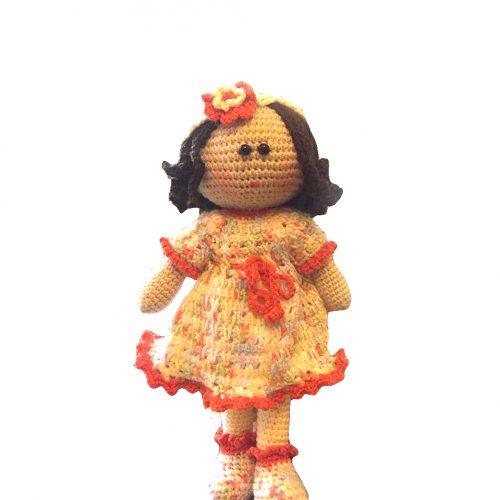 عروسک قلاب بافی