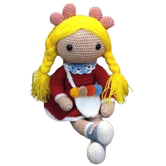 Blonde Girl Crochet