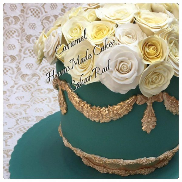 Spring Flower Luxury Cake