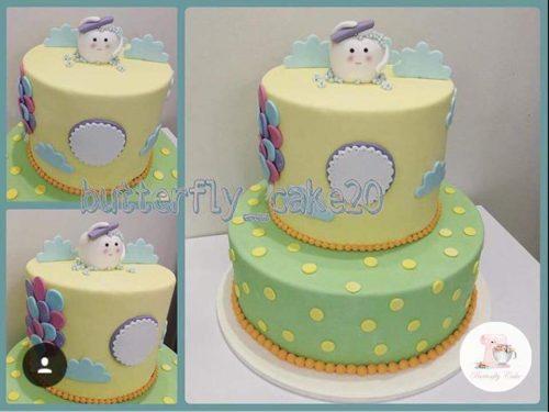 کیک برای جشن دندانی