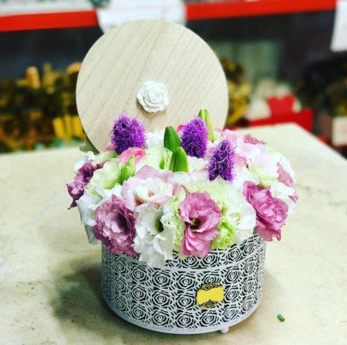 جعبه گل لوسینتوس