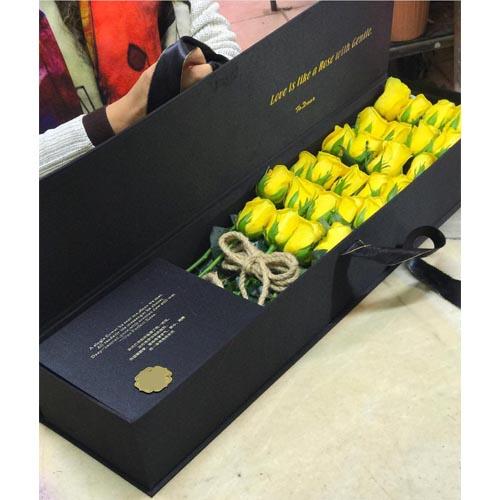 باکس رزهای زرد