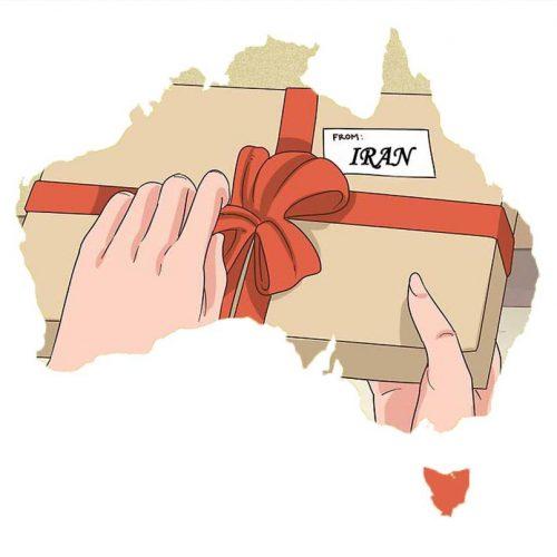 ارسال هدیه به سیدنی