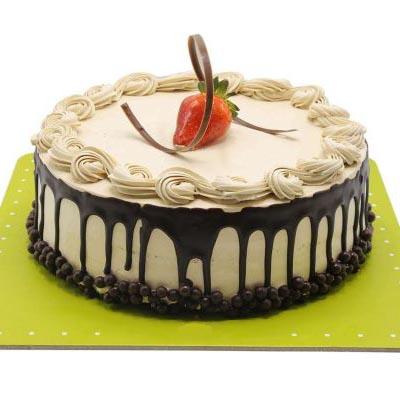 کیک خامه و شکلات