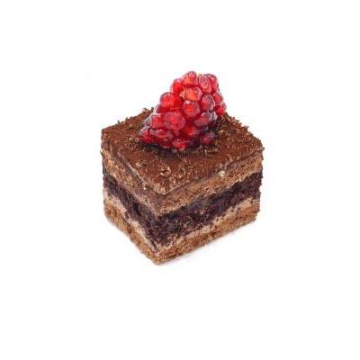 کیک شکلات مربعی