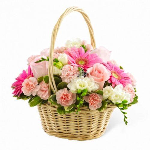 سبد گلهای ملیح